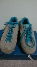 Boy/Kids/Youth Air Nike Sneakers/Running Shoes Grey Suede Leather Size 5.5 24 sm