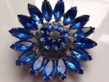 Glass Vintage Costume Brooches/Pins (Unknown Period)