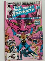 THE WEST COAST AVENGERS ANNUAL #3 (1988) BILL FOSTER GIANT-MAN (ANT-MAN MOVIE)