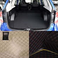 New PU Rear Trunk Cargo Liner Protector Mat Seat Back Cover For Subaru Forester
