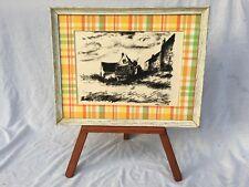 """Original 1958 """"La Potinière à Rueil"""" Lithograph by artist Maurice de Vlaminck"""