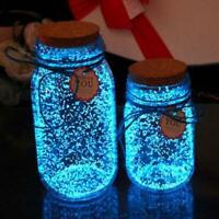 Leucht Partikel Glow Pigment Glow in The Dark Fisch Tank P4A3 Decor V3E4