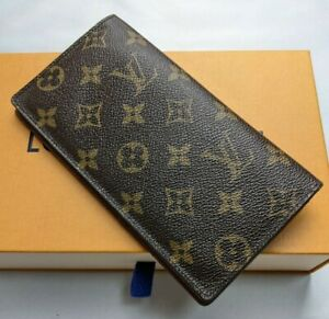 Auth Louis Vuitton Long Wallet CT1907 Brown Monogram GoodCondition Come with Box