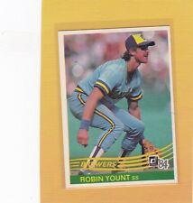 1984 DONRUSS BASEBALL #48 ROBIN YOUNT BREWERS NMMT/MINT *63098