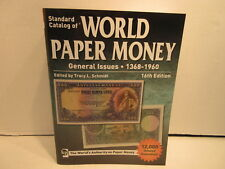 Standard Catalog of World Paper Money Volume 2 16th edition General Issues