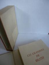 [CURIOSA] LOUYS (Pierre), LYDIS (Mariette). Les Chansons de Bilitis. Ex. Artiste