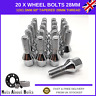 Set Of 20 Alloy Wheel Bolts M12x1.5 Nuts For BMW 3 Series E21 E30 E36 E46 E90