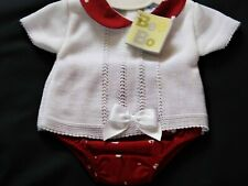 BABY GIRL  2 PIECE KNITTED TOP AND MATCHING PANTS  SET