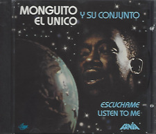 First Pressing FANIA Mega RARE CD MONGUITO EL UNICO escuchame LISTEN TO ME