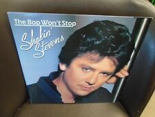 Shakin' Stevens The Bop Won't Stop LP 1983 Epic Records EX