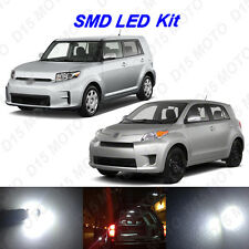 6 x White LED Interior Bulbs + License Plate Lights for 2008-2015 Scion xB xD