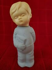 Vintage Avon Cologne Milk Glass Perfume Bottle Bed Time Story Almost Full