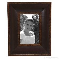 Jugendstil Bilderrahmen Fotorahmen Braun Vintage Rahmen Antik Retro Stil 10x15
