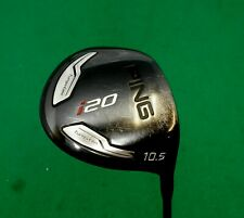 Ping i20 10.5 Degree Driver Stiff Flex Graphite Shaft Ping Grip