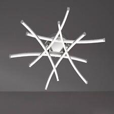 WOFI lámpara LED de techo Stella 6 luces cromo níquel 23 vatios 1428 lúmenes