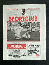 II. BL 91/92 SC Freiburg - VfB Leipzig, 07.09.1991