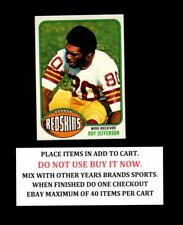 1976 TOPPS FOOTBALL #201 TO #400 SELECT CARDS FROM OUR LIST
