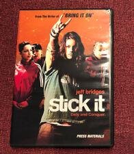 Stick It Movie Press Kit - Missy Peregrym, Vanessa Lengies Drama