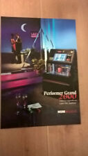 NSM Performer Grand 2000 CD Jukebox sales brochure / flyer / pamphlet