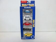 Maisto Road & Track 5 Car VW Set Vee Dubs