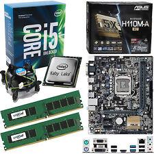 INTEL Core i5 7600K 3.8Ghz (4.2Ghz), ASUS H110M-A/M.2 & 8GB 2133Mhz DDR4 RAM