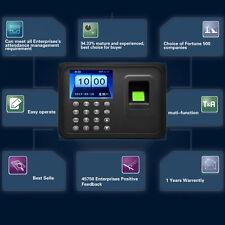 A6 2.4 inch TFT USB 32bit CPU Fingerprint Time Attendance Machine Clock HK