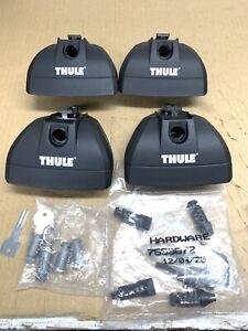 Thule 460r Rapid Podium  foot Pack Locks keys free shipping
