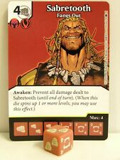 Dice Masters - 1x #105 Sabretooth pescato out-X-MEN FIRST CLASS