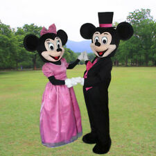 Mickey and Minnie Mouse Mascot Costume party game Birthday Fancy Dress Adult2