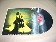 VINYL RECORD ALBUM,VERY RARE ZARA NELSOVA RACHMANINOV,ARTUR BALSAM,LL-1480