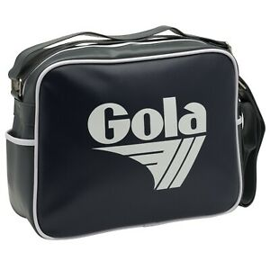 Gola Classic Retro Navy/Ash/White Messenger Bag