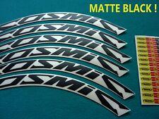 MAVIC COSMIC CARBONE  SL/SLR/SLE MATTE BLACK  RIM DECAL SET  FOR 2 RIMS