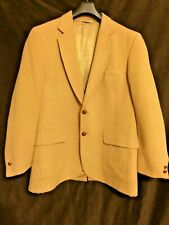 Camel Hair Blazer 100% Fifth Avenue Sport Coat Size 38R 1970's Vintage!