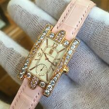 18k Harry Winston Auror Pink and White Diamond Ladies watch 310 / LQRL.M / A04