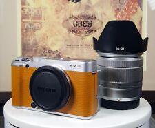 Fuji X-serie X-A2 Cámara + Kit de Lente XC 16-50MM IOS II. Excelente En Caja.