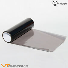 2 x Noir Tinting Film Autocollant Voiture Numéro d'Immatriculation Plaque smoke Vinyl Reg