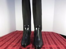 Trotters Neoprene Synthetic Leather Knee-High Boots Shoes Women Size 9N