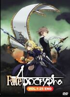 Fate Apocrypha Vol.1-25 End Anime DVD