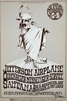Jefferson Airplane Handbill 1970 BG222 Signed by Randy Tuten