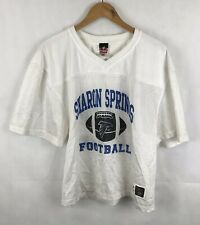 Sharon Springs Falcons American Football Jersey - White - Small / Medium Adult