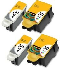 4-Pk/Pack Kodak 30XL Ink Cartridges For ESP 310 C315 2150 2170 Hero 3.1 5.1