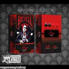 Made Kingpin Deck Bicycle Playing Cards Poker Size USPCC Ultra Limited Edition