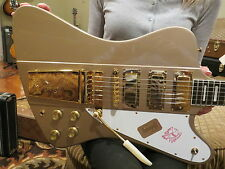 Gibson Custom Shop 20th Anniversary Firebird VII Gold Poly Mist Ebony Fret 2013