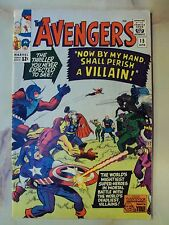 AVENGERS 15 MARVEL COMIC APRIL 1965 DEATH OF BARON ZEMO MASTERS OF EVIL STAN LEE