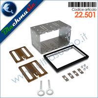 Kit montaggio autoradio 2DIN universale per mascherine 2ISO