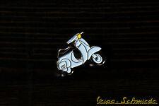 "VESPA Piaggio Pin / Anstecker ""V50 Special '69"" - Blau - Spezial 1969 Hellblau"