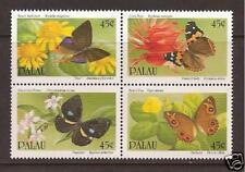 PALAU ISLANDS #'s 242-45a  MNH Butterflies