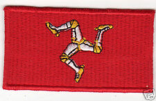 ISLE OF MAN Flag Country Patch
