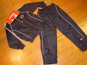 4T Chicago Bears Football Zip Up Jacket Pants Boys Toddler Windbreaker New Kids