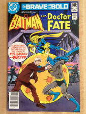 THE BRAVE AND THE BOLD #156 VF 1979 Batman And Doctor Fate Daisy BB Guns Ad!!!